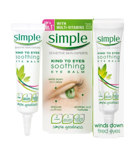 Simple Kind To Eyes Soothing Eye Balm Package 1 £3.49