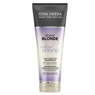 JF Sheer Blonde Colour Renew Tone-Correcting Shampoo